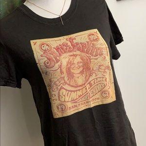Lucky brand vintage look Janis Joplin T-shirt